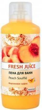 Пена для ванн Peach souffle Fresh Juice, 1000 мл