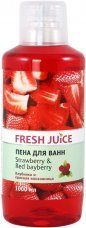 Пена для ванн Strawberry&Red Bayberry Fresh Juice, 1000 мл