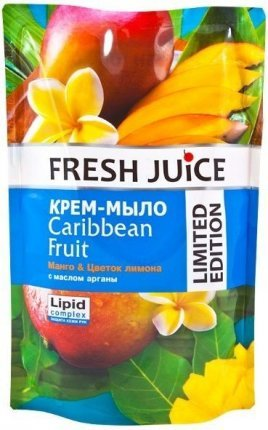 "Крем-мыло ""Caribbean Fruit"" Fresh Juice, 460 мл"