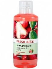 Пена для ванн Fresh Juice Rose apple & Guava, 1000 мл