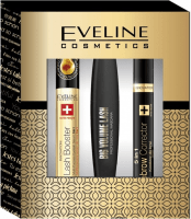 Подарочный набор Eveline Cosmetics (mascara/10ml + corrector/10ml + serum/10ml)