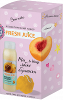 Косметический набор Pure pleasure гель для душа + спонж для массажа FRESH JUICE