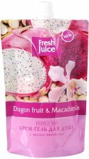 Гель Dragon fruit&Macadamia Дой-пак Fresh Juice, 170 мл