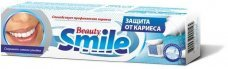 "Зубная паста Beauty Smile Caries protection ""Beauty Smile"" Защита от кариеса Rubella, 100 мл"