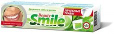 "Зубная паста Beauty Smile Natural herbs ""Beauty Smile"" Лечебные травы Rubella, 100 мл"