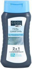 COOL MEN Гель-Шампунь Ultrasensitive, 250 мл,