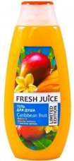 Гель для душа Caribbean Fruit Fresh Juice, 400 мл